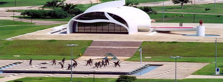 Memorial Coluna Prestes e Movimento18 do Forte, Praça dos Girassóis - Palmas TO - foto: João Di Pietro